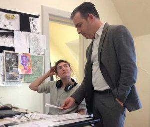 Matt teaching